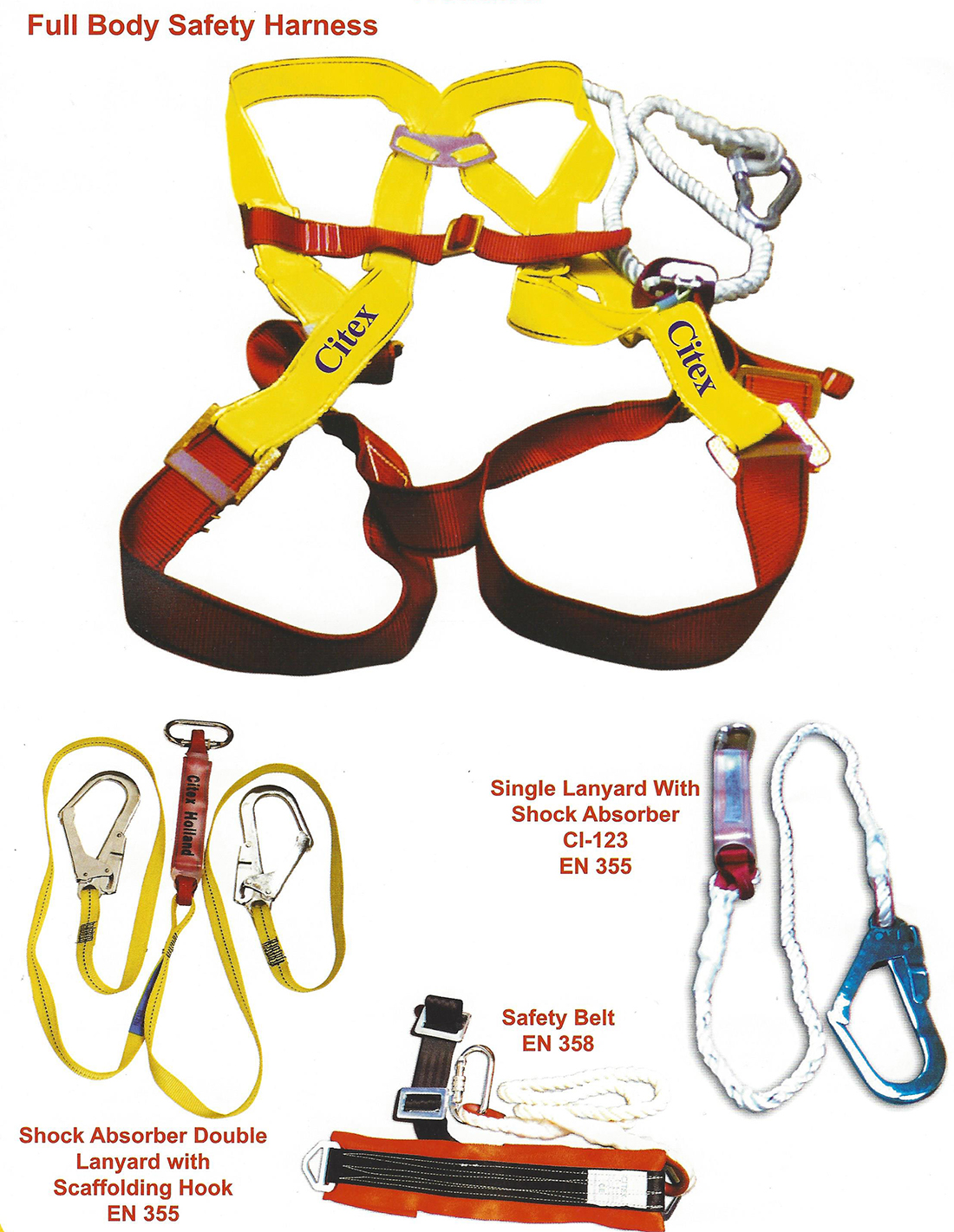 SAFETY HARNESS- CITEX